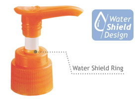 water shiled ring